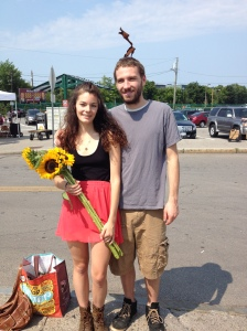 Col & I at the Public Market :)